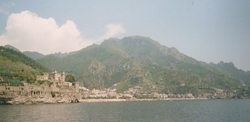 Amalfi Coast, from the sea