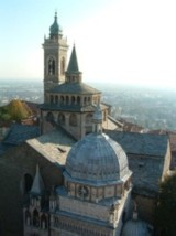 Bergamo, seen from the top of the Torre Civica