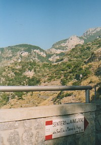 Path from Furore to Praiano