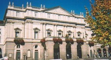 La Scala, before the scaffolding went up