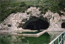 Imperial fishponds and the grotto of the naughty Emperor Tiberius