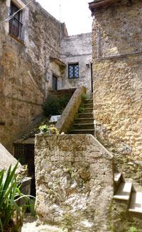 Calcata Tourist Travel Information Italy Heaven