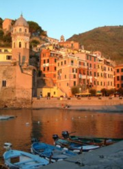 Sunset in Liguria