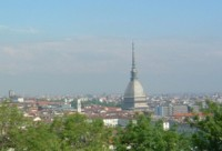 View over Turin