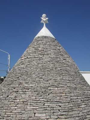 Trullo roof, Alberobello