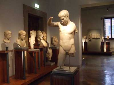 Greek sculptures, Museo Barracco, Rome