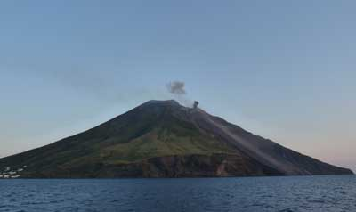 Stromboli Island Volcano Tourist Destination Aeolian Islands