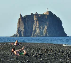 Stromboli Island Volcano Tourist Destination Aeolian Islands