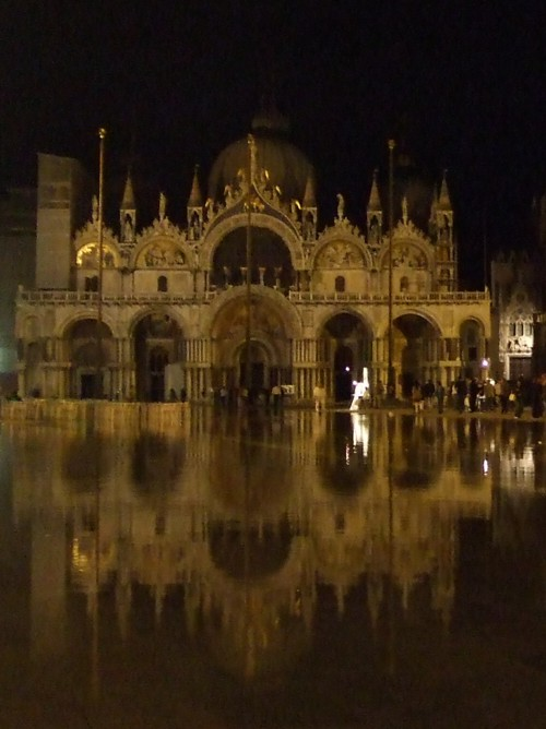 High water in St. Mark's Square, Venice