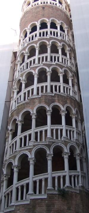 Scala Contarini Del Bovolo Venice Italy Heaven